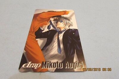 Drap Mikoto Augiri  Manga  Anime On Used Phonecard From Japan  (A3)