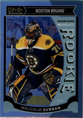 2015-16 O-Pee-Chee Platinum Marquee Rookies Rainbow #M5 Malcolm Subban - NM-MT