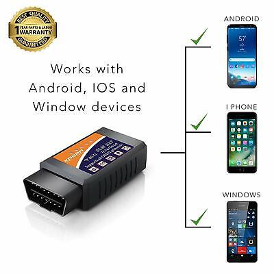 KOBRA Wireless OBD2 Car Code Reader OBD Scan Tool Connects Via WiFi