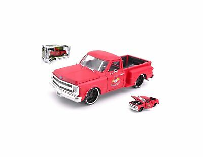 1969 Chevy Camaro ROSSO RED Chevrolet in 1:24 Jada Toys 97402