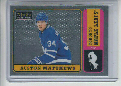 18/19 OPC Platinum Toronto Maple Leafs Auston Matthews Retro card #R-50