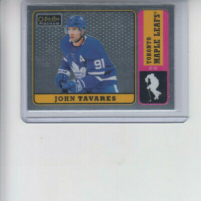 18/19 OPC Platinum Toronto Maple Leafs John Tavares Retro card #R-40