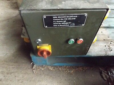 HJ Godwin pumps , control box