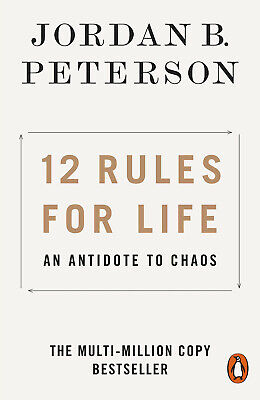 12 Rules for Life: An Antidote to Chaos by Jordan B. Peterson Book - Paperback