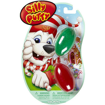 Silly Putty 2/Pkg-Holiday Fun