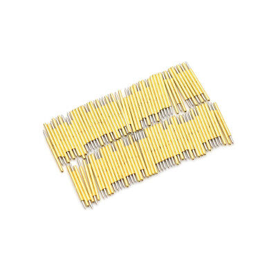 100PCS P75-B1 Dia 1.02mm 100g Cusp Spear Spring Loaded Test Probes Pogo Pins