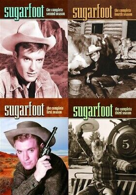 SUGARFOOT THE COMPLETE TV SERIES New Sealed DVD Seasons 1 2 3 4