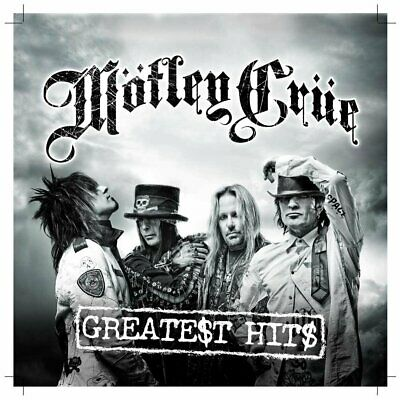Greatest Hits by Motley Crue Audio CD Acoustic Blues & Classic Glam Rock NEW