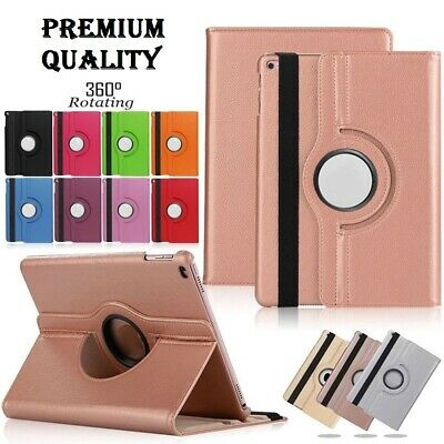 LUXURY 360 Smart Stand Case Cover For Apple iPad 2/3/4 Air/Air 2 2017/2018 9.7''