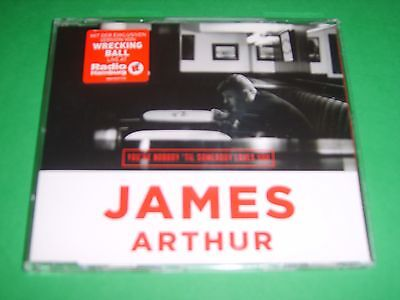 JAMES ARTHUR - You're Nobody 'Til Somebody Loves You German 2013 Sony CD NEW!