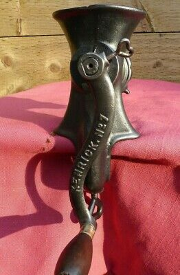 Vintage Cast Iron Kenrick No 7 Meat Grinder Mincer Kitchen Accessory