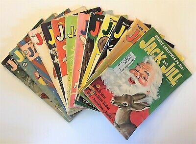 13 Jack & Jill Magazines (from 1958-1969)     $ 2 TRAIN AUTISM SERVICE DOG 4 SON