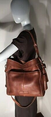 d28637374cbe Stunning Isabella Fiore Extra Large Leather Shoulder Bag Crossbody Purse