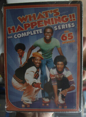 What's Happening: The Complete Series DVD BRAND NEW SEALED
