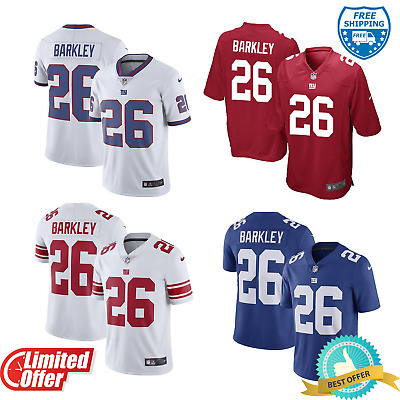 wholesale dealer 6f03f f7277 NEW YORK GIANTS Saquon Barkley #26 Men's Football Jersey ...