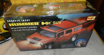 Maisto Hummer H2 SUV Humvee Infrared Remote Controlled 1:18 Scale NIB
