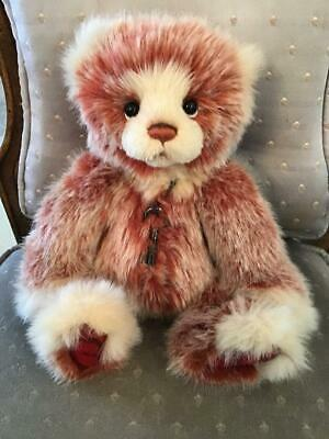 """Bakewell Charlie Bears 2019 Plush * 12.5"""" New With Tags"""