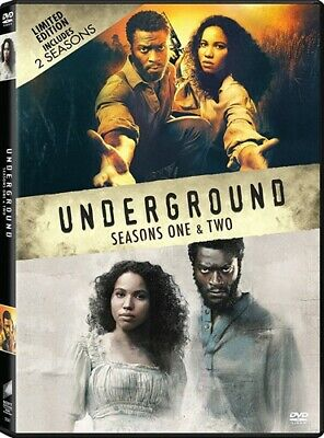 UNDERGROUND COMPLETE TV SERIES SEASONS ONE & TWO New Sealed 6 DVD Set 1 2