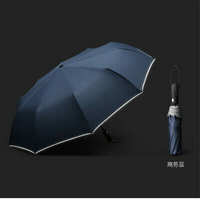 a1e8f1400 10 Bones Auto Open&Close Windproof Travel Umbrella Compact Folding for Men/ Women