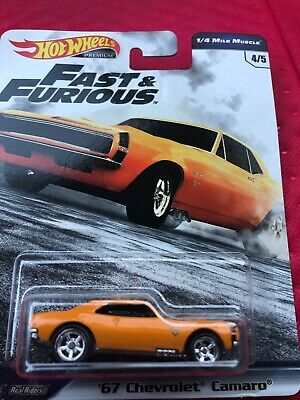 2019 Hot Wheels Fast & Furious '67 Chevrolet Camaro 1/4 Mile Muscle