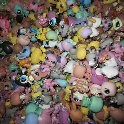 Littlest Pet Shop Lot/5 Pieces/Random/Dogs/Birds/Fish/Horses/Animals/Limited###