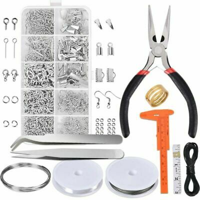 Paxcoo Jewelry Making Supplies Kit - Jewelry Repair Tool With Accessories Jewelr
