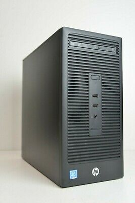 HP 280 G2 MT Business PC Tower Intel 6th Gen 3.30 GHz 320 GB HDD 4GB DDR4 Ram
