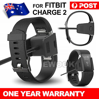 USB Charging Cable Charger Lead for Fitbit CHARGE 2 Fitness Tracker Wristband AU