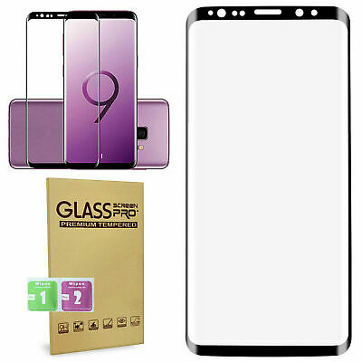 100% Genuine Tempered Glass Screen Protector For Samsung Galaxy S9 Plus – Black