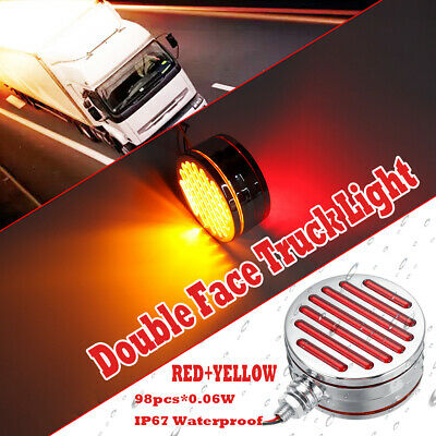6 inch 100W Halogen -Chrome Driver side WITH install kit 2015 Mack RAWHIDE MID-RISE SLEEPER Side Roof mount spotlight