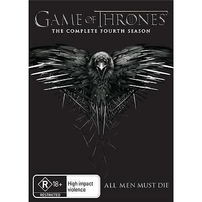 GAME OF THRONES : Season 4 : NEW DVD