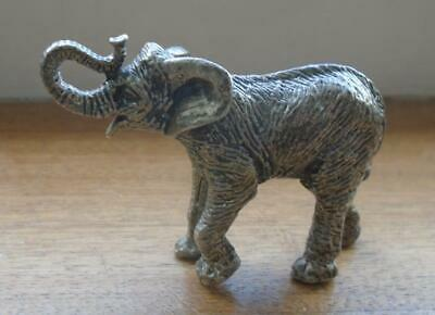 marked 925 solid silver elephant ornament excellent detail