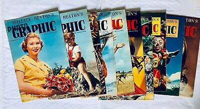 10 Vintage Issues of Wallace Heaton's Photographic Magazine