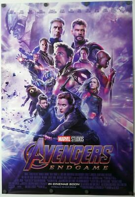 Avengers Endgame - original DS movie poster 27x40 D/S  End Game FINAL - INTL C
