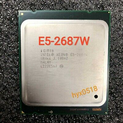 Intel Xeon E5-2687W 3.1GHz 8 Core 16 Threads SR0KG LGA2011 CPU Processor Tested