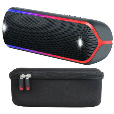 Sony SRS-XB32 EXTRA BASS Portable Bluetooth Speaker (Black) with Hard Case