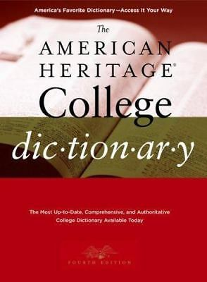 The American Heritage College Dictionary, Fourth Edition, ,0618835954, Book, Goo