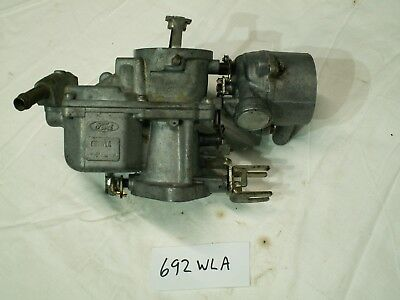 Ford 1V Carburettor 692WLA N.O.S. 1.6/2.0 Cortina Capri ?? Carby Vergasser