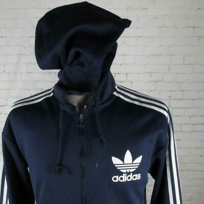 ADIDAS ORIGINALS FLOCK Hooded Jacket Sweatshirt Adi Track