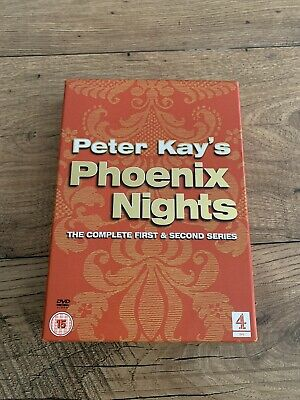 Peter Kay's Phoenix Nights DVD Box Set The Complete First & Second Series
