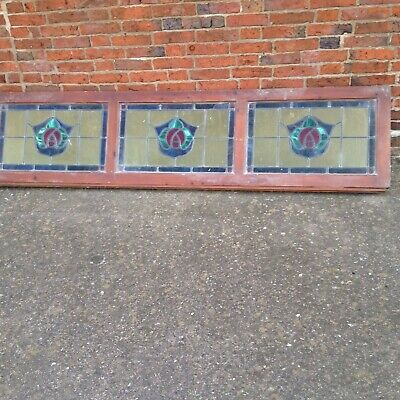 Stained glass Leaded windows pub