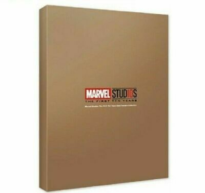 MCU Studios 10th Years Anniversary Gold Marvel Posters Premium Collection_NU