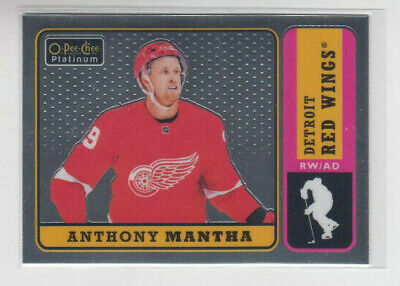 18/19 OPC Platinum Detroit Red Wings Anthony Mantha Retro card #R-23