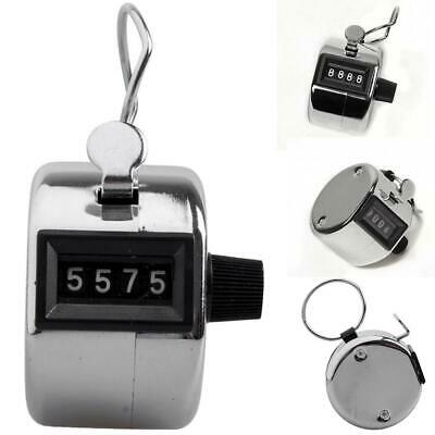 Portable Quick Reaction 4 Digit Number Manual Tally Metal Mechanical SO6H