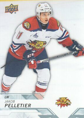 2018-19 Upper Deck CHL Hockey #64 Jakob Pelletier