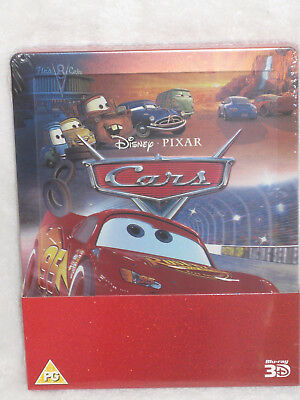 Cars (3D + Blu-ray SteelBook) NEW & SEALED