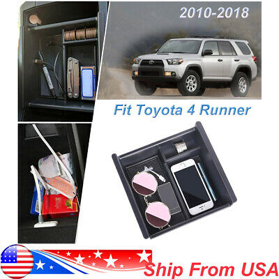 For Toyota 4Runner 2010-2019 Center Console Storage Box Organizer Glove Tray US