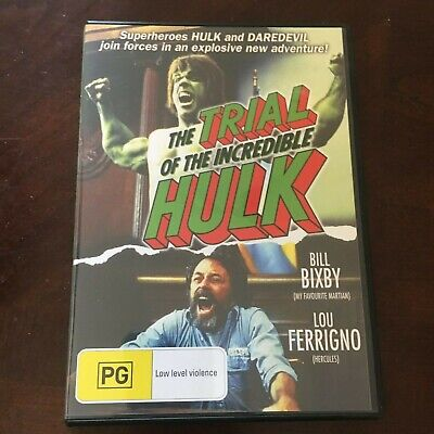 The Trial Of The Incredible Hulk Dvd. Region Free
