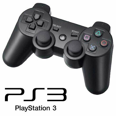 Dualshock Wireless Controller Black for Sony PS3 PLAYSTATION 3 Gamepad