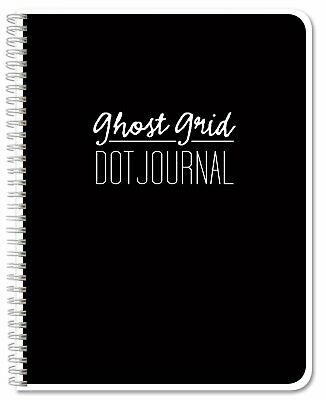 Bookfactory Ghost Grid Dot Journal / Bullet Notebook 120 Pages
